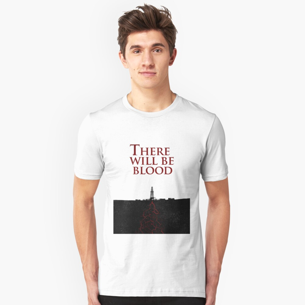 There Will Be Blood - Blood & Oil Slim Fit T-Shirt