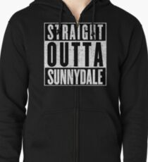 Sunnydale Represent! Zipped Hoodie