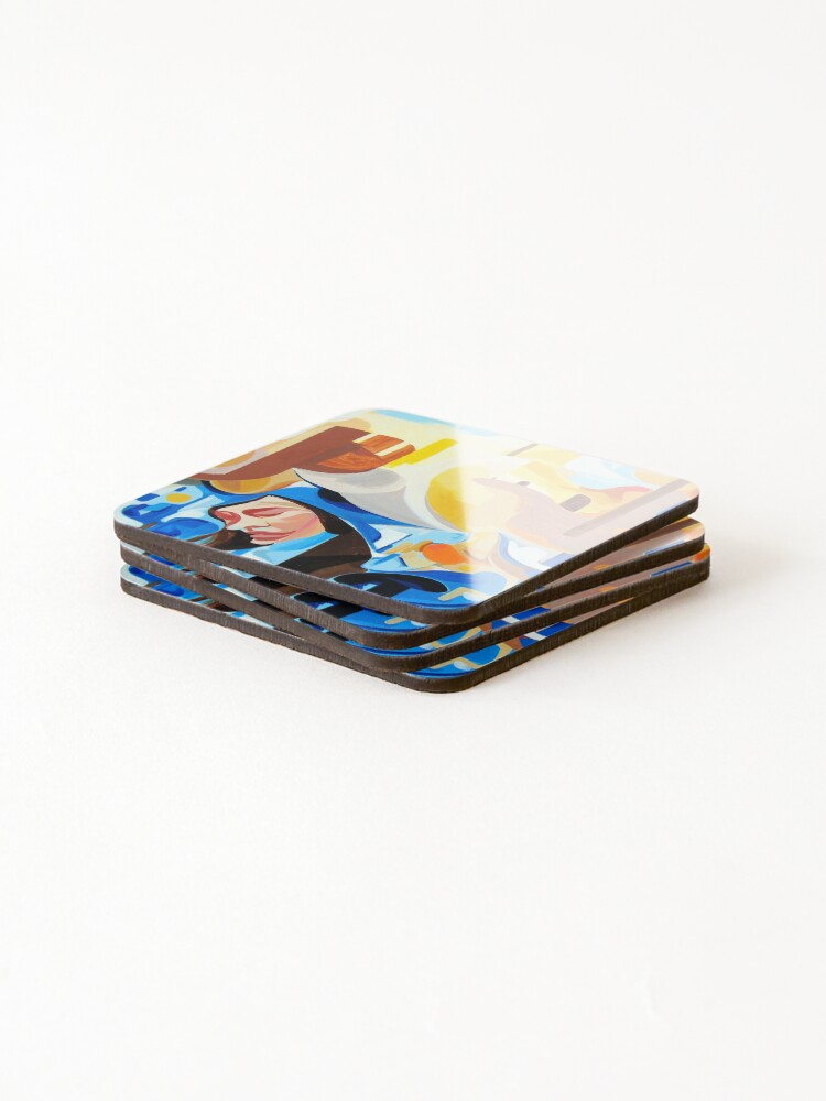 Alternate view of Introspection  Coasters (Set of 4)