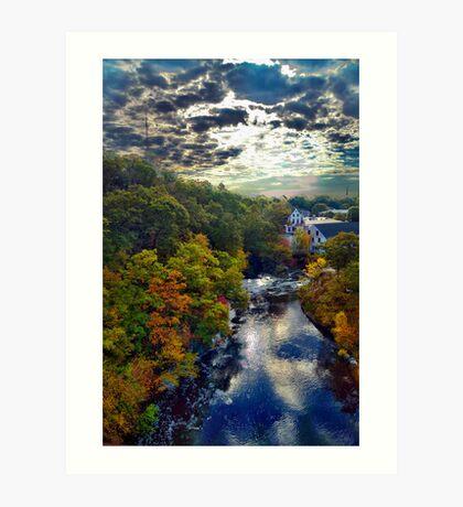 Hemlock Gorge Reservation II Art Print