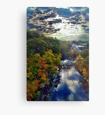 Hemlock Gorge Reservation II Metal Print