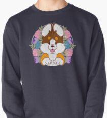 Reese the Black and Tan Corgi Pullover Sweatshirt