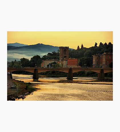 Morning Along the Arno Photographic Print