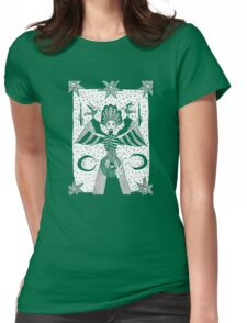Nocturnal Devotion Womens Fitted T-Shirt
