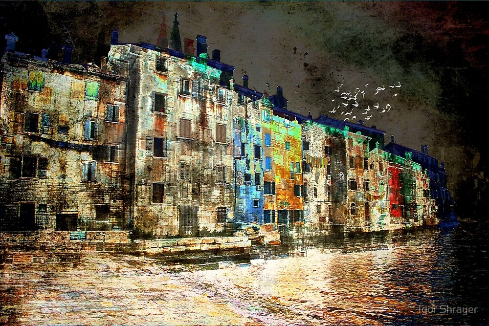 The Essence of Croatia - The Dark Side of Rovinj by Igor Shrayer