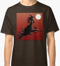 Witch's Silhouette - Clothing and Stickers Classic T-Shirt