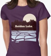 Reiden Lake (fringe) Women's Fitted T-Shirt