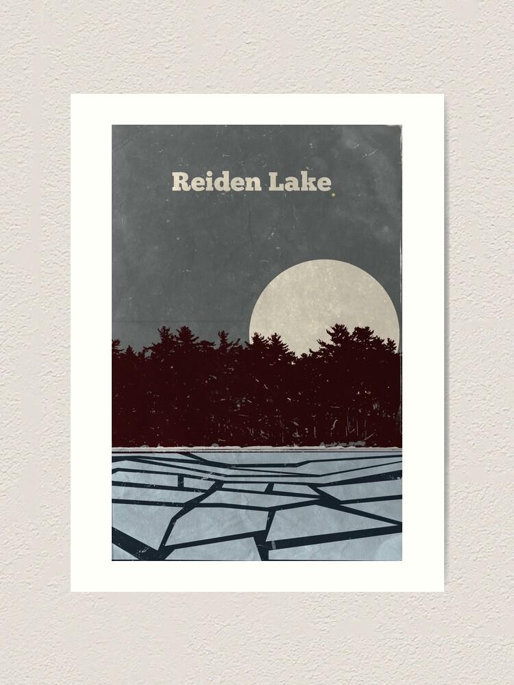 Alternate view of Reiden Lake (fringe) Art Print