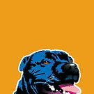Blue Staffie by Bloomin'  Arty Families