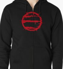 Hotline Miami: 50 Blessings - Stylised Zipped Hoodie
