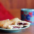 Berry Pastry Tea Break by Tracy Friesen