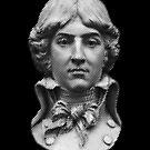 Louis Antoine de Saint-Just  portrait by kislev