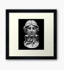 Louis Antoine de Saint-Just  portrait Framed Print