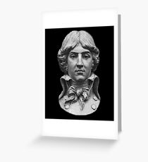 Louis Antoine de Saint-Just  portrait Greeting Card