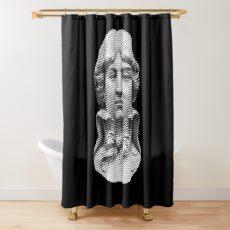 Louis Antoine de Saint-Just  portrait Shower Curtain