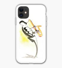 Jazz Saxophone Musician iPhone Case