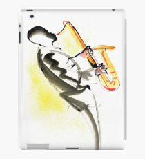 Jazz Saxophone Musician iPad Case/Skin