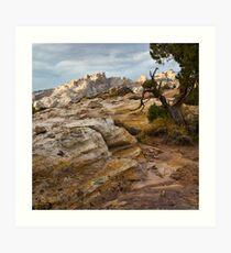 Sandstone Artist's Palette Art Print