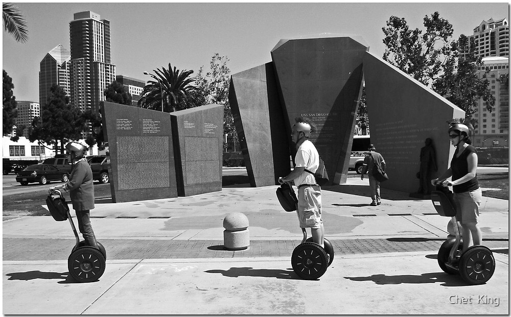 Segways In San Diego by Chet  King