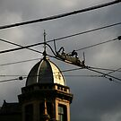 intersection. fitzroy, melbourne. by tim buckley | bodhiimages