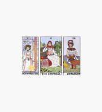 Midsommar Tarot Cards (color version) Art Board Print