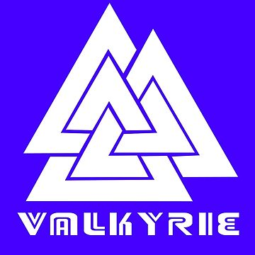 Valkyrie geek funny nerd by sayasiti