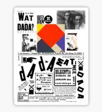 Wat is Dada ? Sticker