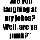 Are you laughing at My Jokes by April Brucker