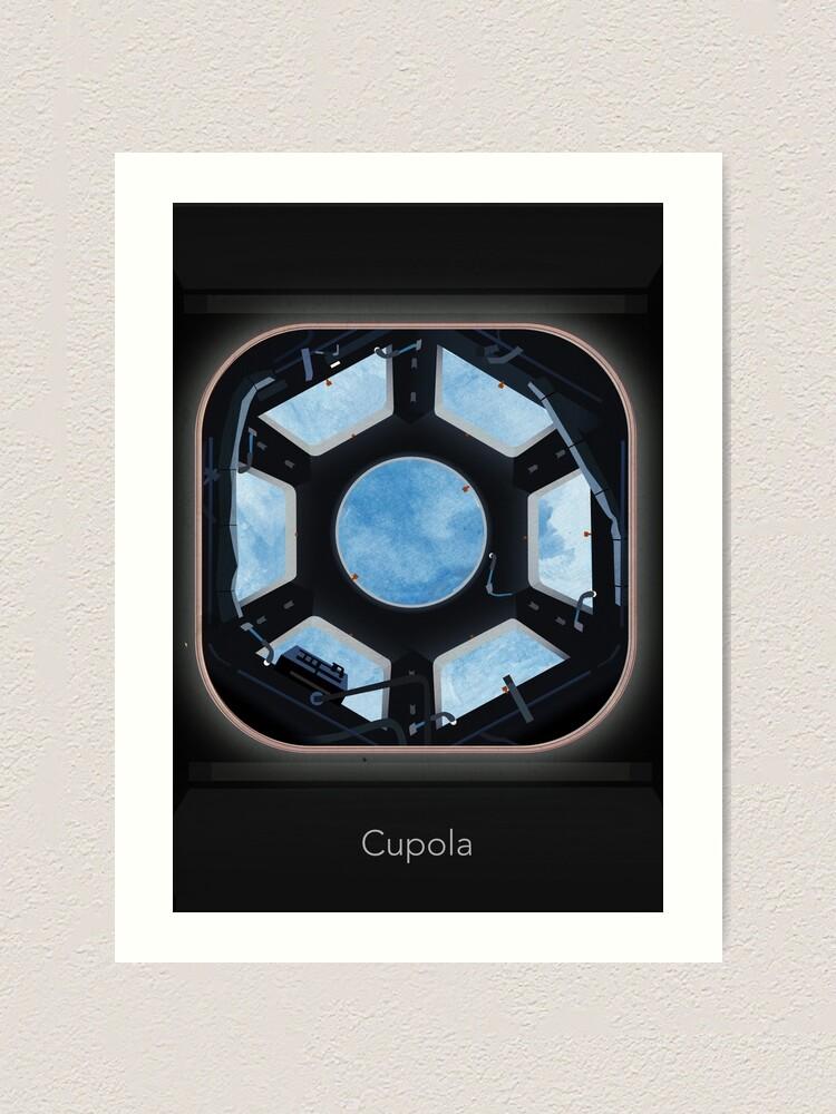 Alternate view of Cupola (ISS) Art Print