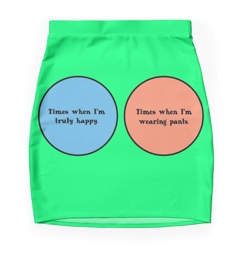 Venn diagram geek funny nerd mini skirts by sayasiti redbubble venn diagram geek funny nerd pooptronica