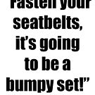 Fasten Your Seatbelts! by April Brucker