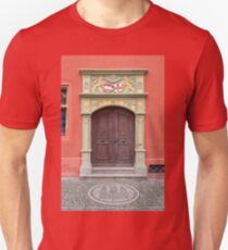 Decorated Door of Old Town Hall T-Shirt