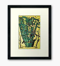 FOREST EATERS Framed Print