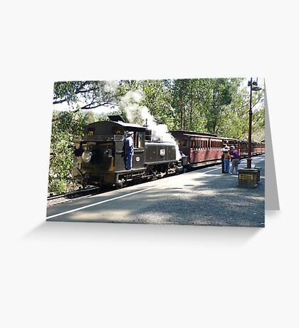 Puffing Billy # 1 Greeting Card
