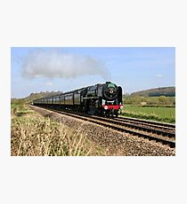 Steam Train in England Photographic Print