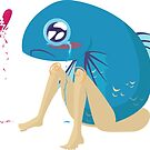 Fishbutt: Blue: Heartbroken by Mina Roy