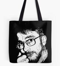 David, Portrait in Black and White Tote Bag