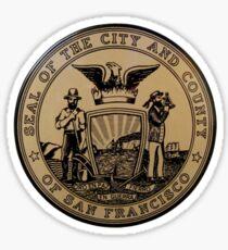 San Francisco City Seal Sticker