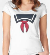 Stay, Puft. Women's Fitted Scoop T-Shirt