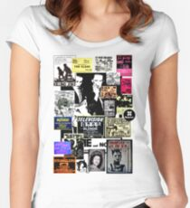 Punks are dead, not their music Women's Fitted Scoop T-Shirt