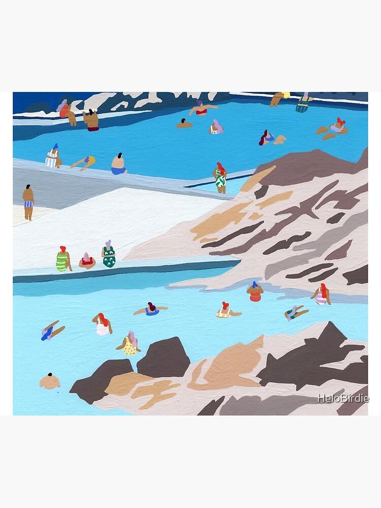 Rock pools by HeloBirdie