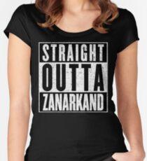 Zanarkand Represent! Women's Fitted Scoop T-Shirt