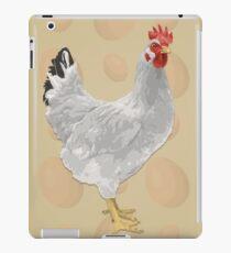 White Fowl iPad Case/Skin