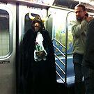 On the subway by John Sunderland