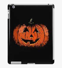 Vintage Happy Halloween Pumpkin iPad Case/Skin
