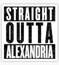 Alexandria Represent! Sticker