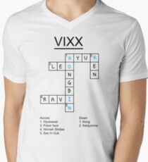 VIXX crossword puzzle design T-Shirt