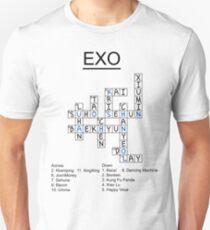 Exo Crossword Puzzle Unisex T-Shirt