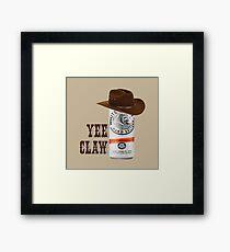 Yee Claw Framed Print