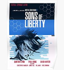 Liberty - Metal Gear  Poster